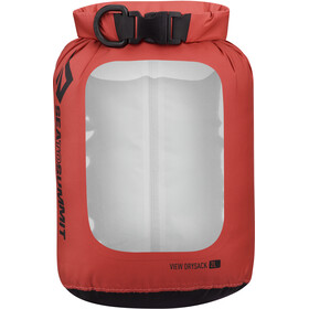 Sea to Summit View Rejsetasker 2L flaske, red